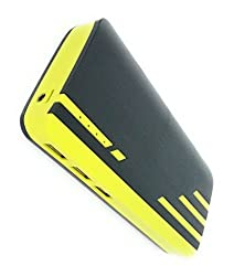 Lapguard Sailing-1530 Power Bank 13000 mAh Make In India portable Charger powerbank -Black-Yellow