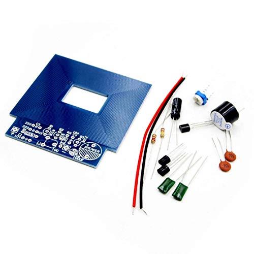 Kaemma Einfache Metalldetektor Metal Locator Elektronische Produktion DC 3V - 5V DIY Kit Umweltfreundliche Materialien(Color:Blue)