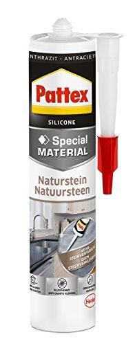 Pattex Naturstein Silikon anthrazit, PFNSA