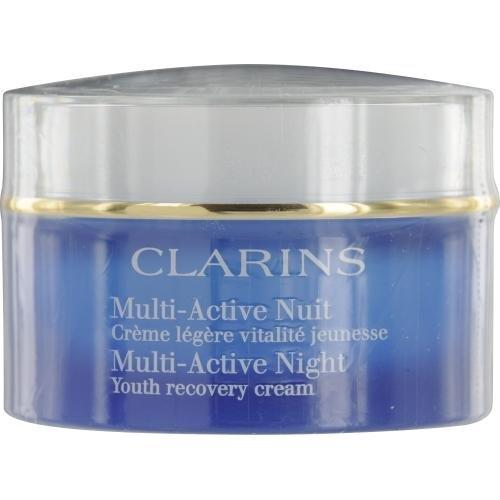 Clarins MULTI-ACTIVE crÚme légÚre nuit vitalité jeunesse TP 50 ml