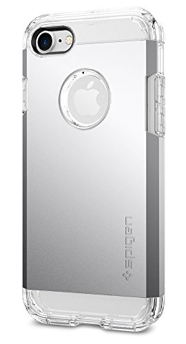 Coque iPhone 7, Spigen® [Tough Armor] HEAVY DUTY [Argent] EXTREME Protection / Rugged but Slim Dual Layer Coque Pour iPhone 7 - (042CS20672)