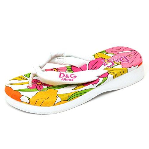 Dolce & Gabbana D1062 Infradito Ragazza D&G JUNIOR Beachwear Sandal Girl [32]