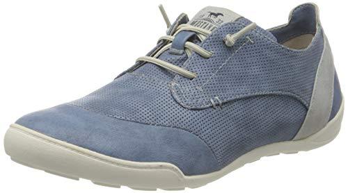 Mustang Damen 1314-301-8 Slip On Sneaker, Blau (Blau 8), 38 EU