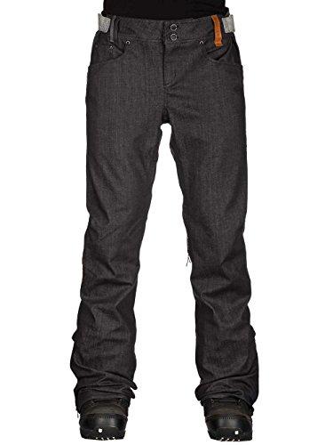 Holden Skinny Denim Pantaloni da snowboard dark grey