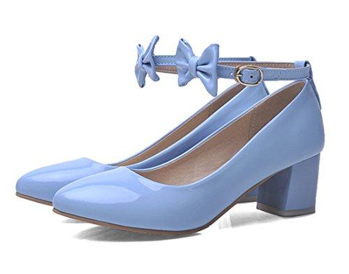 YE , Bride cheville femme Bleu