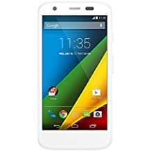 "Motorola Moto G 4G - Smartphone libre (pantalla 4.5"", cámara 5 Mp, 8 GB, Quad-Core 1.2 GHz, 1 GB RAM, Android 4.4.3) blanco"