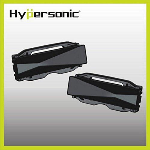 Gurtstraffer (Hypersonic® HP3501 2 x Sicherheitsgurtsperre Gurtsperre Sicherheitsgurt Stopper Belt Clip Stopper , praktisch , Schwarz)
