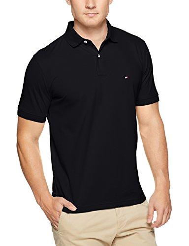 Tommy Hilfiger Herren Poloshirt CORE Regular Polo, Schwarz (Flag Black 032), X-Large