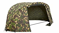 Aqua Camouflage Atom Lightweight Compact Carp Fishing Bivvy (Over Wrap)