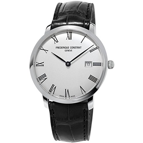 frederique-constant-slimline-herren-armbanduhr-40mm-armband-leder-gehause-edelstahl-automatik-fc-306