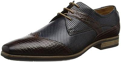 Bugatti 311189042121, Zapatos De Cordones Derby para Hombre