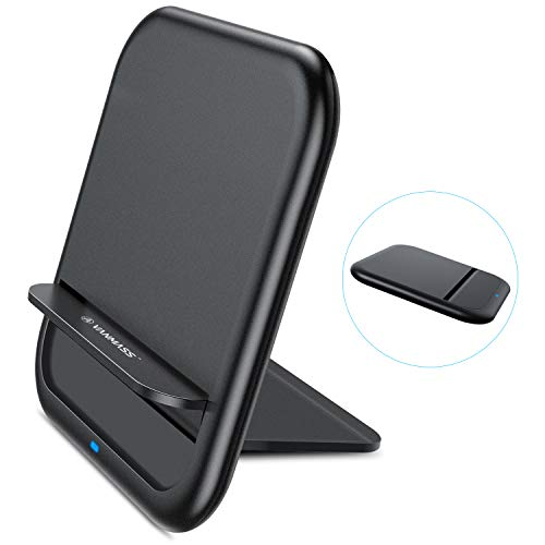 Fast Wireless Charger VANMASS Qi Ladegerät Transformer Schnelle Kabellose Induktive Ladestation 10W / 7.5W für iPhone X/XS / 8 Plus, Galaxy S9/ S8 Plus/Note 8, Nexus, HTC, LG und andere Qi Geräte (Wireless G3 Dock Lg Charger)