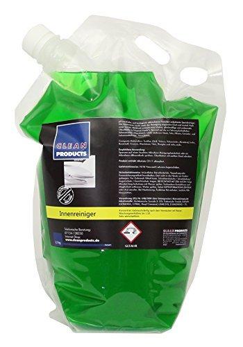 cleanproducts-detergenti-per-interni-auto-25-kg-concentrato-speciale-prodotti-di-cura-di-automobile-