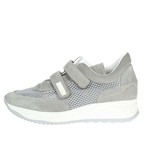 Agile By Ruco Line Agile By Rucoline  1313(27-A) Petite Sneakers Femme Gris Gris - Chaussures Baskets basses Femme