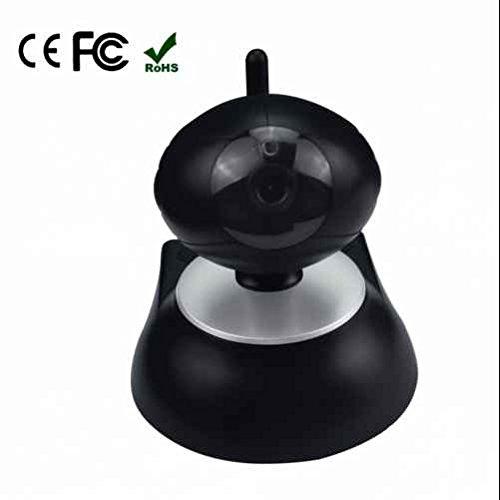 Babyphones Caméra IP 720p Webcams,Caméra de surveillance LED,2 LED infrarouge,surveillance sans fil Vision Nocturne,détecteur de mouvement,Reconnaissance Sonore,Alarme par E-mail Intelligent APP Android / iPhone / iOS