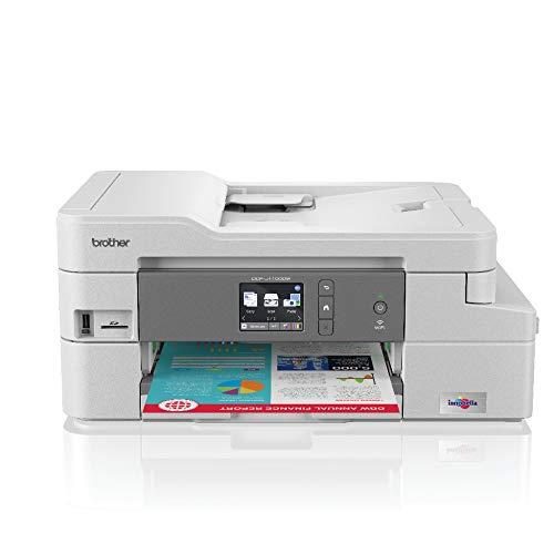Brother DCP-J1100DW All in Box - Imprimante Multifonction 3 en 1 -Jet  d'Encre - Couleur - Pack Tout en 1 - Garantie 3 ans - Airprint