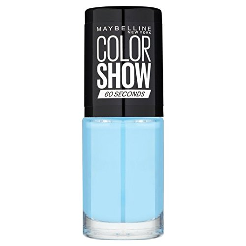 Maybelline Nail Color Show, Cool Blue 651 7ml