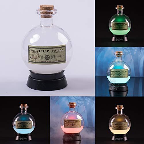 trendaffe Harry Potter Vielsafttrank Dekolampe mit Farbwechsel - Harry Potter Polyjuice Dekolicht Dekoleuchte Stimmungslicht