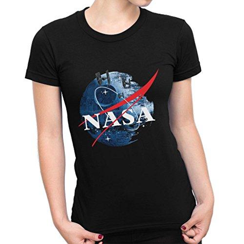 NASA Death Star Logo Star Wars Women's T-Shirt