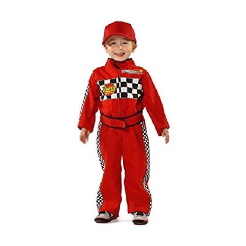 ids Costume 3 - 5 years (Rennfahrer Kostüm)