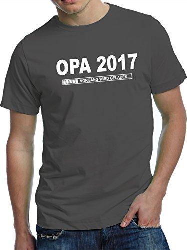 T-Shirt OPA LOADING 2017 - by Love Rules Stahlgrau