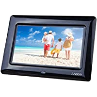 Andoer 8 HD TFT-LCD Marcos Digital de Fotos MP3 MP4 Movie Player