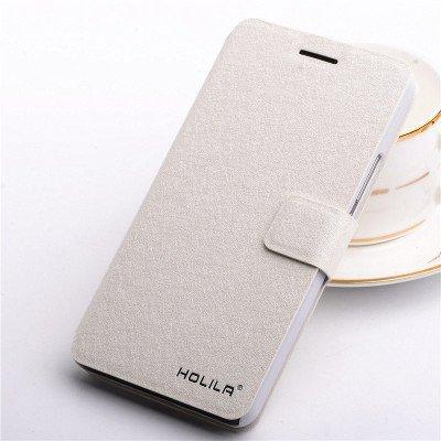 Samung Schutzhülle Leder Hülle mit Standfunktion und Karte Halter für Samsung Galaxy S6 (Samsung Galaxy S6, Weiß) (Tasche 3006)
