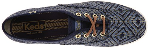 Keds Shoes - Keds Ch Tribal Met Navy Shoes - Navy Navy