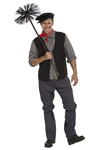 Plus Size Chimney Sweep Fancy dress costume Plus