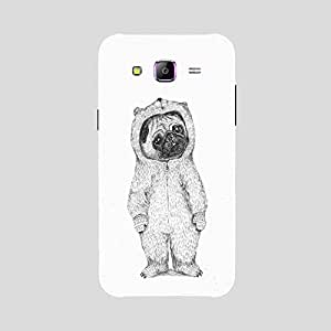 Back cover for Samsung Galaxy A7 Pug Bear