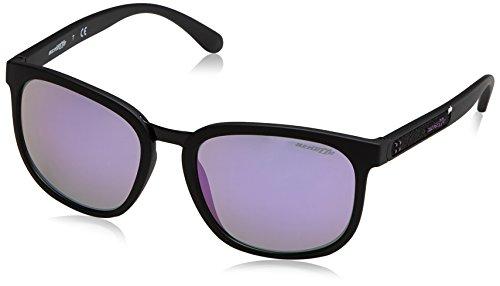 Arnette tigard, occhiali da sole unisex-adulto, matte black 01/4v, 55