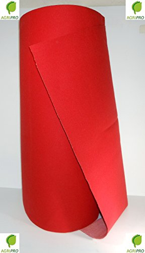Alfombra roja de 1 m de ancho