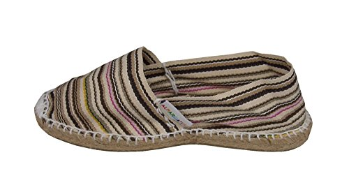 Alpargatus , Damen Espadrilles Multicolores