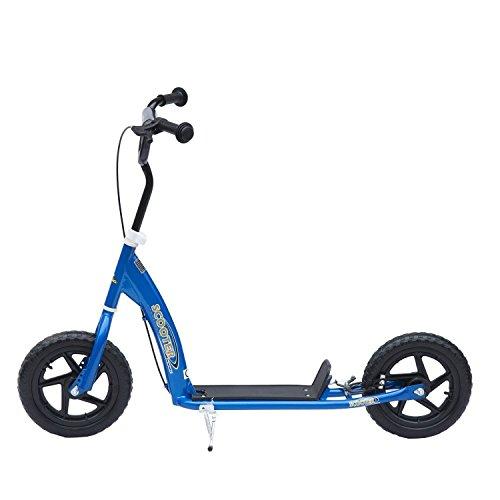 Homcom® Tretroller Scooter 12 Zoll Cityroller Kinder Roller Bike 2 Farben (Blau)