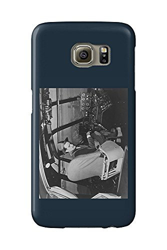 Howard Hughes in Spruce Goose Wooden Plane - Vintage Photograph (Galaxy S6 Cell Phone Case, Slim Barely There)