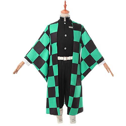 YKJ Anime Kostüm Rollenspiel Kostüm Mann Kimono Kostüm Halloween Full Set,Full Set-M