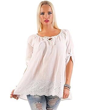 TEMSTER - Camisas - Túnica - Básico - Cuello redondo - para mujer