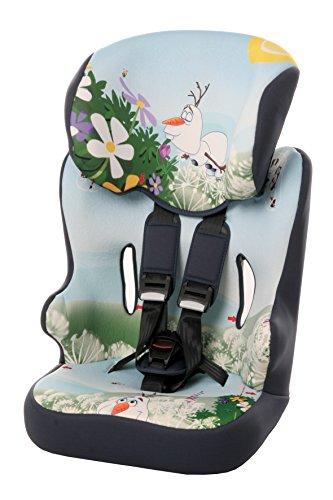 Osann Kinderautositz Racer SP Disney Frozen Olaf hellblau, 9 bis 36 kg, ECE Gruppe 1 / 2 / 3, von ca. 9 Monate bis 12 Jahre, mitwachsende Kopfstütze