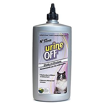King Matériaux Solution anti odeur et anti tâches pour litière chat Urine off 473ml