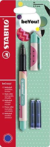 Tintenroller - STABILO beCrazy! FRUITS - Melone - inklusive 3 Patronen
