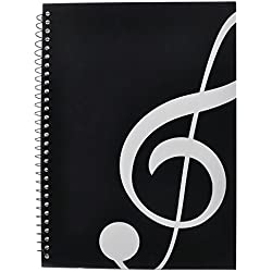 PUNK Music Manuscript Paper with 40 Pages