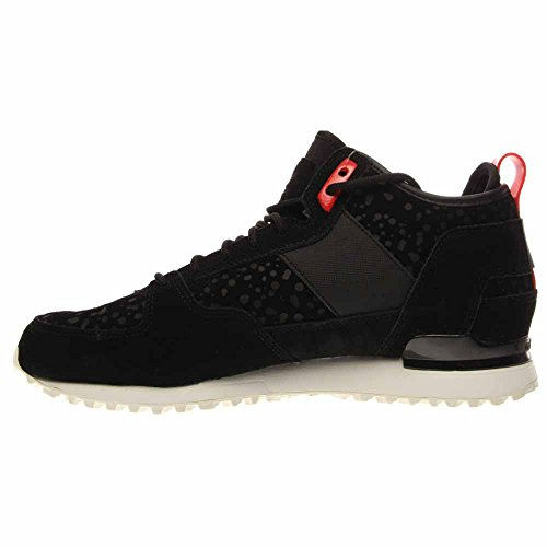adidas For Men: Military Trail Runner Schwarz Sneaker Stiefel (8) Black / Red