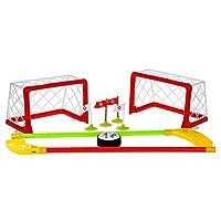 Air-Power-Ball-Hover-Unihockey-Schwebender-Ball-mit-Beleuchtung-Hockey-mit-Tore-und-Hockeyschlger