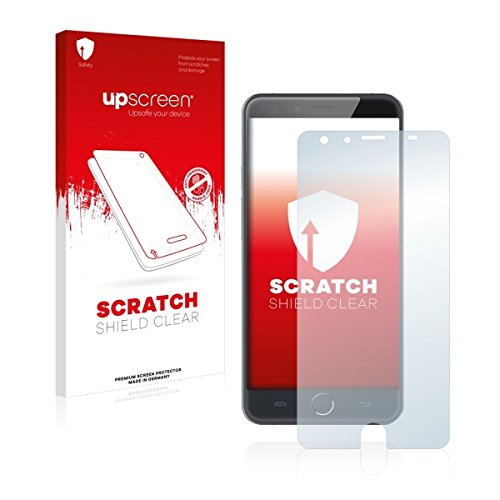 upscreen Scratch Shield Clear Bildschirmschutz Schutzfolie für Ulefone Be Touch 3 (hochtransparent, hoher Kratzschutz)