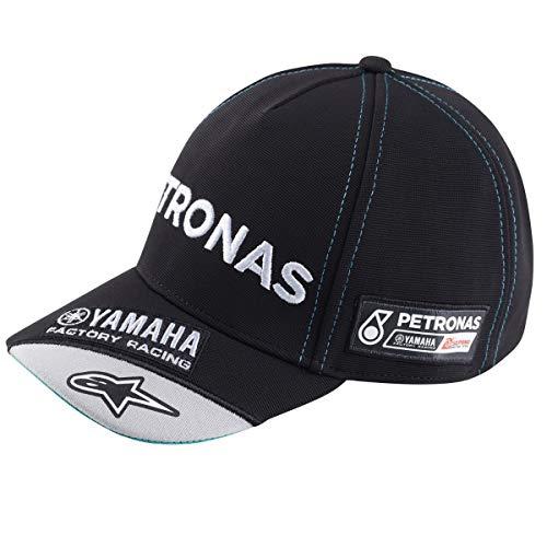 Yamaha Petronas Team Herrn Round Peak Baseball Cap Kappe