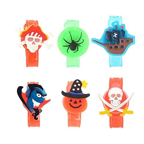 Upstudio Persönlichkeit Urlaub 6 Stücke Kinder Kinder Leuchtbänder für Halloween Chritmas Festival Dance Party Party bevorzugt ()