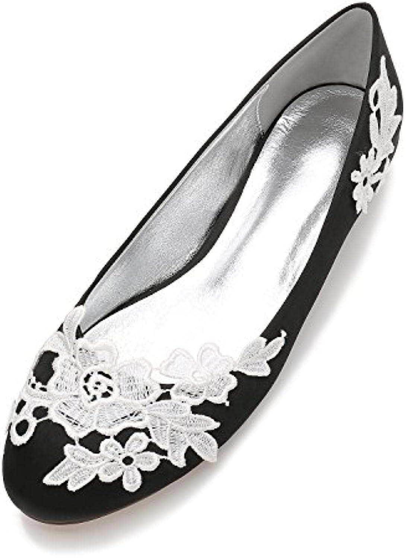 Qingchunhuangtang@@ Bocca poco profonde a testa circolare di Calzature Donna scarpe matrimonio raso di seta grande... | Qualità e quantità garantite  | Uomo/Donna Scarpa