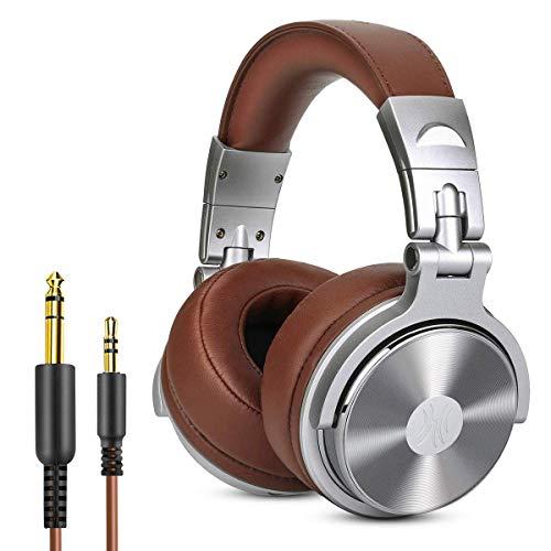 Casque DJ Fermé, OneOdio Casque Audio Studio Professionnel, Casque de Monitoring, Casque...
