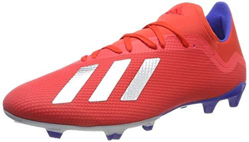 adidas Herren X 18.3 Fg Fußballschuhe, Mehrfarbig (Rojact/Plamet/Azufue 000), 46 EU - Adidas-fußball-schuhe-indoor