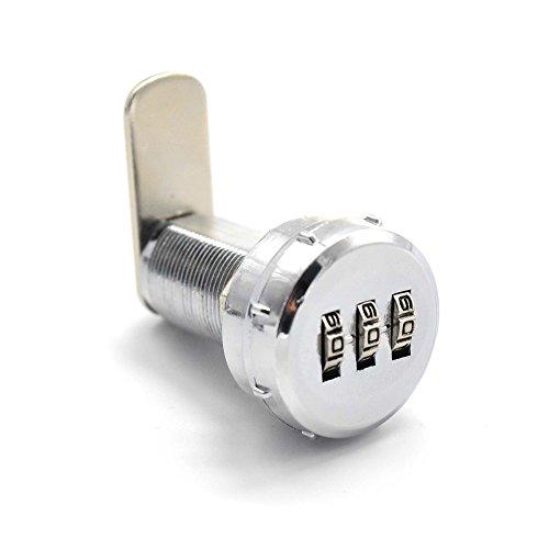 Kombination Cam Lock 3 Digit und neue Stil Sicherheitsschloss für Box Schrank Schublade benutzerdefinierte Passwort (3-schubladen-werkzeug-box)